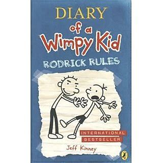 Rodrick Rules Diary of a Wimpy Kid #2 by Jeff Kinney