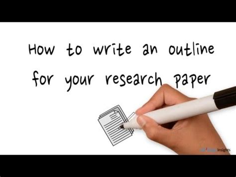 An outline for term papers